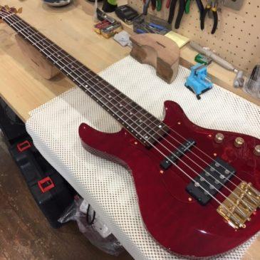 FERNANDES 5弦ベース/基本セットアップ