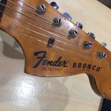 FENDER Bronco /サドルリペア