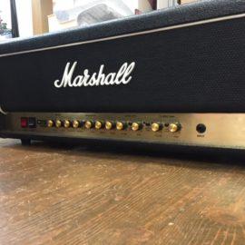 Marshall DSL100H / スイッチ交換,パワー菅交換