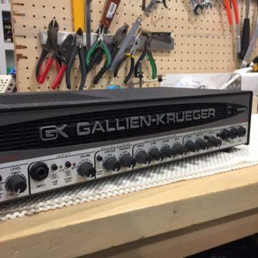 GALLIEN-KRUEGER ベースアンプ修理 700RBⅡ