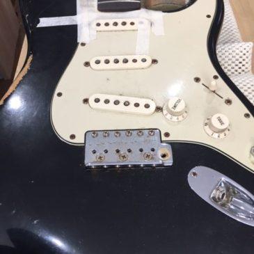 Fender ストラトキャスター/ジャック交換