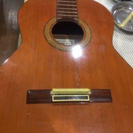 クラシックギター/クラック修理
