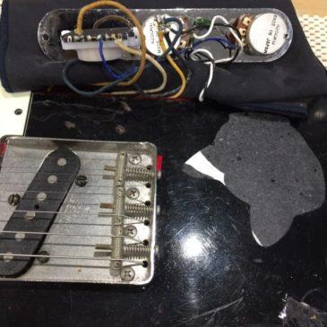 Fender テレキャスター / スイッチ交換