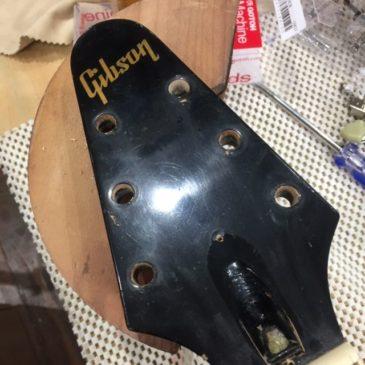 Gibson / MARAUDER(マローダー)ペグ&ポット交換