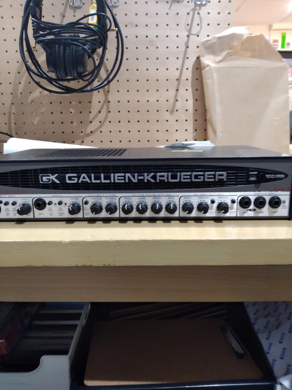 GALLIEN-KRUEGER / ベースアンプ修理